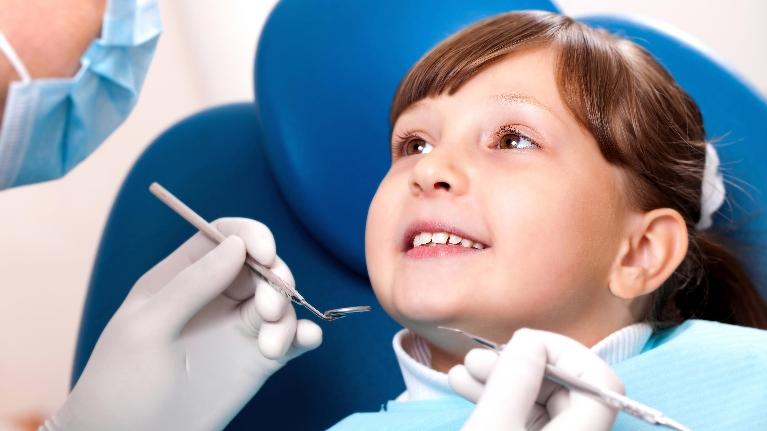 Child Getting Dental Cleaning | Family Dentist in Indianapolis IN